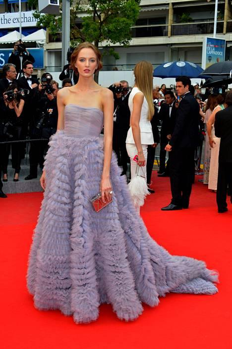 Daria Strokous 19. toukokuuta Cannesin elokuvajuhlilla.