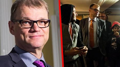 Pääministeri Juha Sipilä (kesk) vieraili syksyllä Oulussa Heikinharjun vastaanottokeskuksessa. Hän ilmoitti myöhemmin Ylen aamutelevisiossa, että antaa Kempeleessä sijaitsevan talonsa turvapaikanhakijoiden käyttöön.