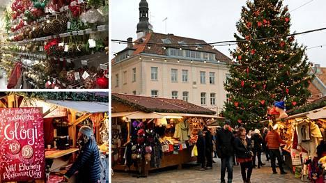 Joulutoreja on Keski-Euroopassa kutakuinkin jokaisessa itseään kunnioittavassa kaupungissa, mutta harvalla on niin komeita keskiaikaisia puitteita ympärillään kuin Tallinnalla.