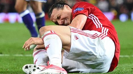 Zlatan loukkantui torstaina pelatussa ottelussa kohtalokkaasti.