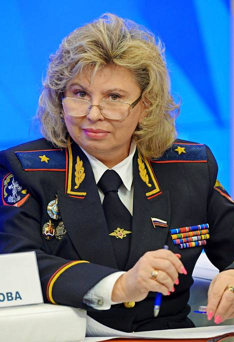 Tatjana Moskalkovan toimisto ei halunnut tätä univormukuvaa jakaa.