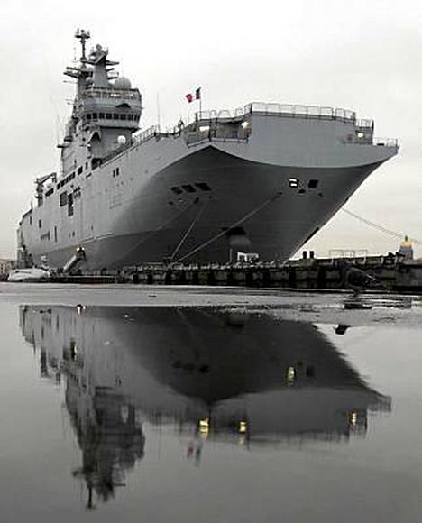 Venäjä ja Ranska ovat jo pitkään neuvotelleet Mistral-luokan tukialusten kaupasta.