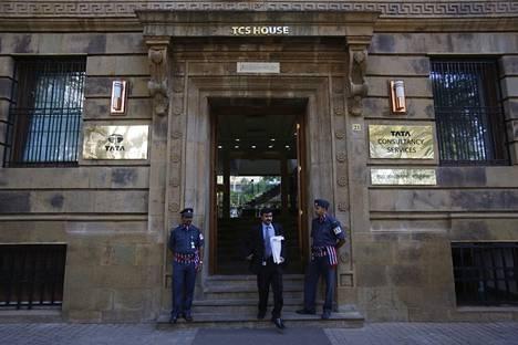 TCS:n toimisto Intian Mumbaissa.