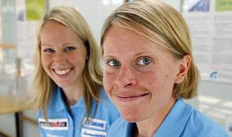 Anne Rikala (oik.) meloi neljänneksi maailmancupissa.