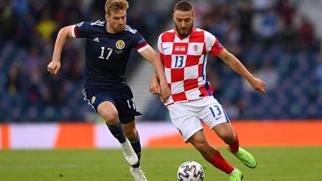 Nikola Vlasic siirsi Kroatian johtoon.
