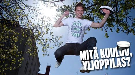 Jere Järlströmin tie vei lukion jälkeen ulkomaille opiskelemaan.