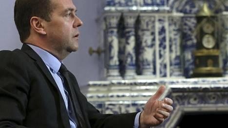 Venäjän pääministeri Dmitri Medvedev