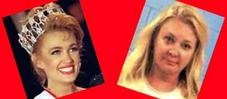 Miss USA 1992 on menettänyt ulkoisen loistonsa.