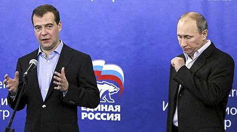 Dmitri Medvedev ja Vladimir Putin