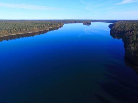Sääksjärvi sai alkunsa jääkaudella, kun maan alle painautui valtava jäälohkare.