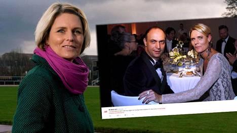 Katrin Krabbe ja Bob Hanning esiintyivät yhdessä gaalassa Berliinissä viikonloppuna.