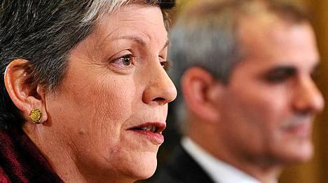 Janet Napolitano on huolissaan.