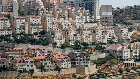 Israel suunnittelee rakentavansaa yli 1000 uutta kotia Länsirannalle. Kuvassa Efratin siirtokunta Betlehemin eteläosissa.
