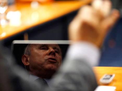 Brasilian valtiovarainministeri Guido Mantega.