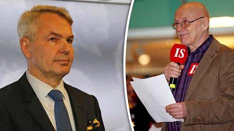Pekka Haavisto oli kehitysministerinä 2013, kun Caruna-kaupoista sovittiin. Veijo Hämäläinen pitää tätä kauppaa katastrofaalisena.