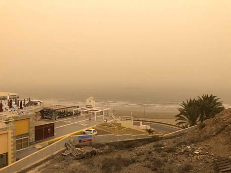 Calima-hiekkamyrskyt ovat Kanariansaarilla ajoittain toistuva ilmiö.