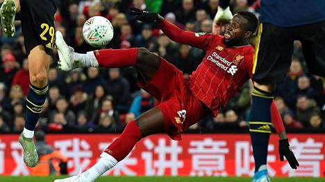 Liverpoolin Divock Origi tasoitti 5–5:een viime hetkellä.
