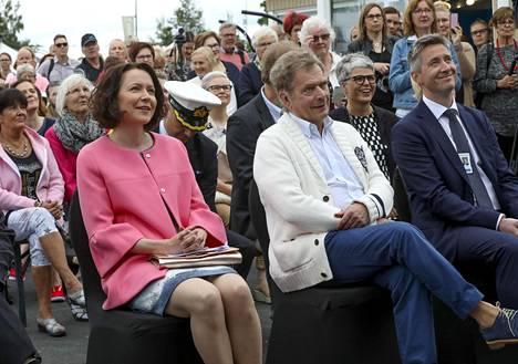 Jenni Haukiolla ja presidentti Niinistöllä on liki 30 vuoden ikäero.