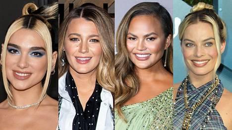 Muutaman sentin kasvanut tumma tyvi ei ole tukkamoka vaan trendikäs hiustyyli.