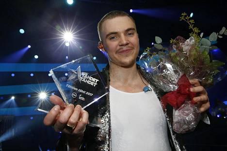 Elias Kaskinen voitti Tähdet, tähdet -kisan.