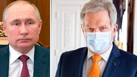 Tasavallan presidentti Sauli Niinistö kertoo kertoo keskustelleensa Venäjän kollengansa Vladimir Putinin kanssa Sputnik V -rokotteen saamisesta Suomeen.