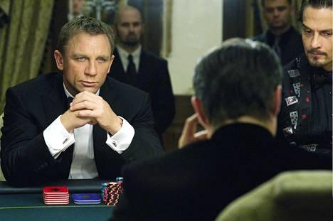 Daniel Craigin ensimmäinen Bond-seikkailu Casino Royale esitteli aiempaa realistisemman ja kärsivän agentin.