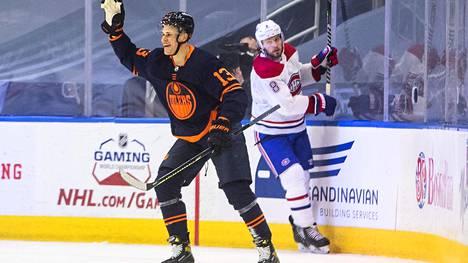 Jesse Puljujärvi osui Montrealin verkkoon molemmissa viikon otteluissa.