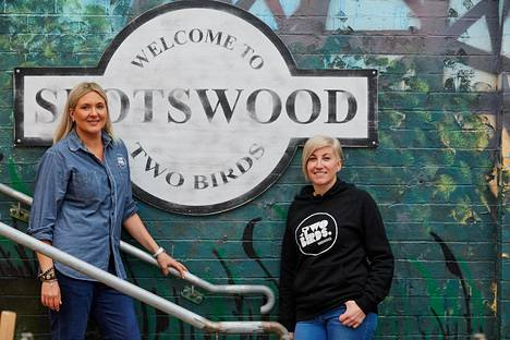 Jayne Lewisin ja Danielle Allenin yhtiö aloitti 2011 ja sen valikoimassa on viisi olutmerkkiä.