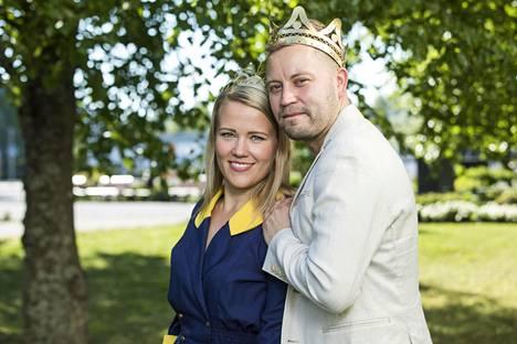 Tangokuninkaalliset Saana Sassali ja Jarno Kokko uskovat, että tulevan vuoden aikana heistä tulee vielä hyviä ystäviä.
