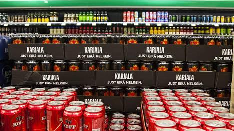 Perinteisten oluiden lisäksi myös alkoholittomille oluille on kysyntää.