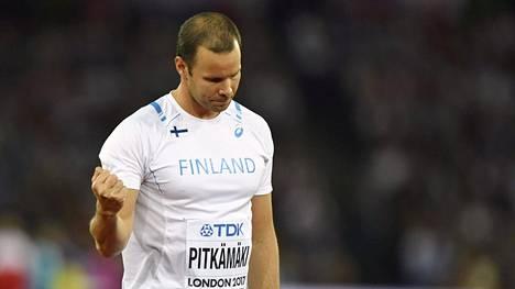 Tero Pitkämäki teki Lontoon hurjatasoisessa keihäsfinaalissa sen, minkä pystyi. Se riitti viidenteen sijaan.