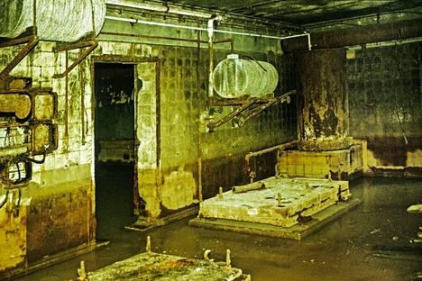 Bunkkeria ei koskaan täydellisesti tuhottu vaan se peitettiin maalla. Monet huoneet olivat säilyneet koskemattomina.