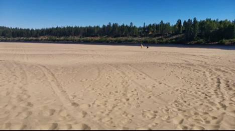 Tuntematon ranta, Ivalo.