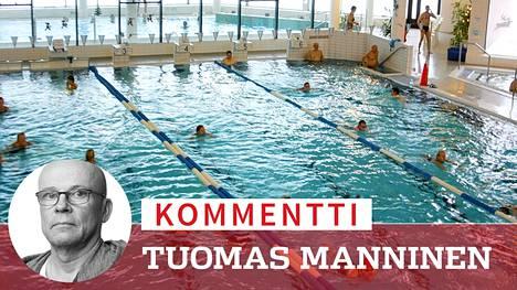 Uimavalvojilta edellytetään tarkkaa psykologista silmää ja ehdotonta puolueettomuutta, huomauttaa toimittaja Tuomas Manninen. Arkistokuva.