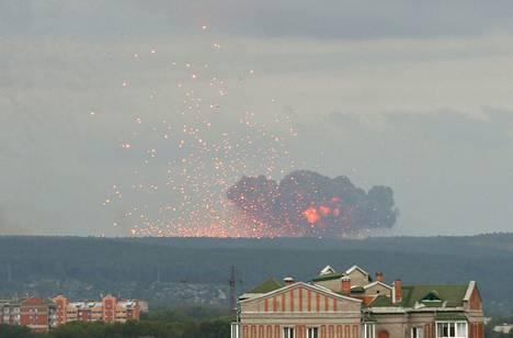 Venäjällä on räjähtänyt viikon aikana kolmesti. Ensimmäiset räjähdykset tapahtuivat Krasnojarskin alueella.