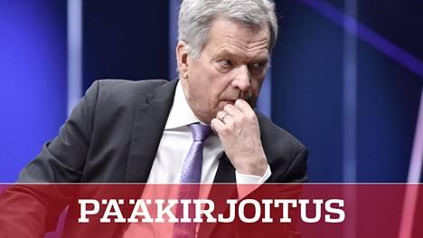 Presidentti Sauli Niinistö on rauhoitellut kansaa koronaviruksen vastaisessa taistelussa.