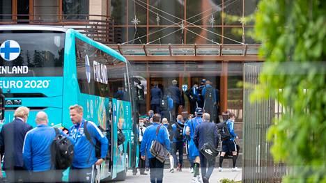 Suomen joukkue palasi sunnuntai-iltana Venäjälle.