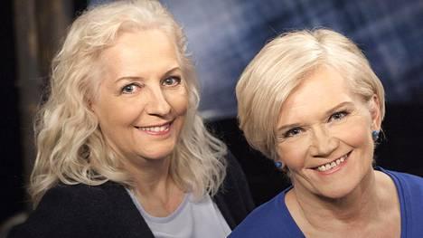 Maarit Tastula ja Anne Flinkkilä palaavat ruutuun uuden keksusteluohjelman myötä.