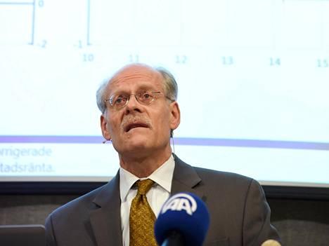 Ruotsin keskuspankin pääjohtaja Stefan Ingves