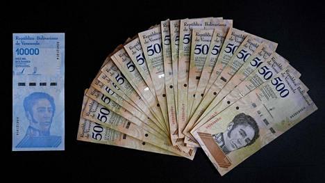 Venezuelassa aiotaan laskea uusia seteleitä liikkeelle lokakuussa.