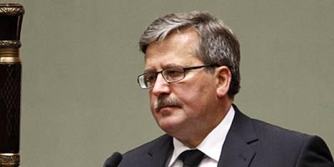 Puolan virkaatekevän presidentin, parlamentin puhemiehen Bronislaw Komorowskin odotetaan ilmoittavan piakkoin presidentinvaaleista.