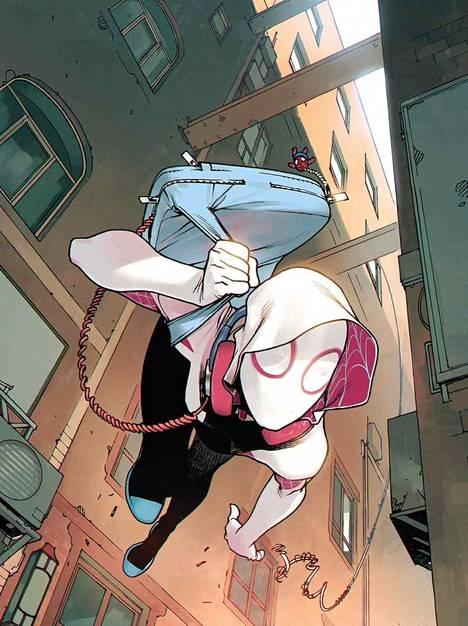 Ranskalaisartistin Bengal tekee kannet Rosi Kämpen Spider-Gweniin.