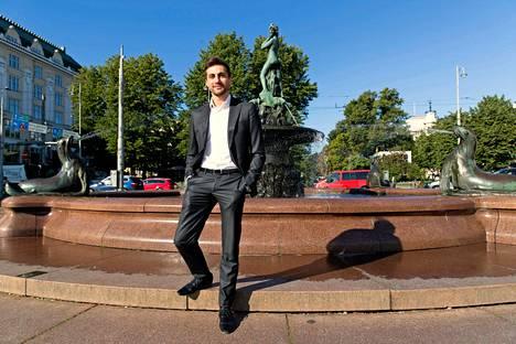 Sami Itani uskoo, että Suomen yleisurheilulla on valoisa tulevaisuus. Juhlitaanko Mantan patsaalla lähivuosina myös yleisurheilun maailmanmestaria?