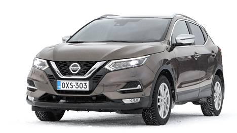 Nissan Qashqai on yksi suomalaisten todellisista suosikkimalleista, sillä se on ollut vuodesta 2012 alkaen joka vuosi kolmen myydyimmän automallin joukossa. Ykköspaikan Qashqai saavutti sekä 2012 että 2018. Viime vuonna Qashqai oli Škoda Octavian ja Toyota Corollan jälkeen 4 339 kappaleella kolmas.
