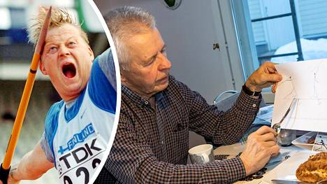 Valmentaja Eino Maksimainen kertoi Seppo Rädyn voimatasoista.
