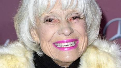 Carol Channing kuoli 97-vuotiaana.