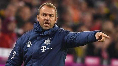 Hansi Flick palkattiin väliaikaiseksi päävalmentajaksi.