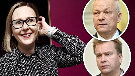 Kokoomuksen ja keskustan ryhmäjohtajat Kalle Jokinen ja Antti Kaikkonen uskovat soten menevät eduskunnassa läpi Maria Lohelan loikasta huolimatta.