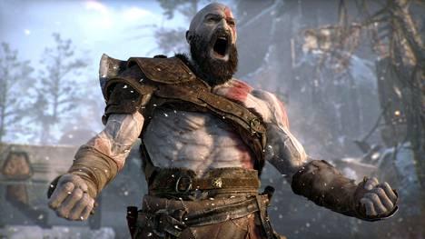 """This is Sparta! Spartan aaveeksikin kutsuttu Kratos voi ottaa tuttuun tapaan """"Spartan raivon"""" avuksi, jos tilanne käy turhan tukalaksi."""