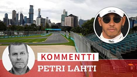 Katsomot jäivät Melbournessa tyhjiksi, kun F1-kauden avauskisa peruttiin. Maailmanmestari Lewis Hamilton otti asiaan tiukasti kantaa.